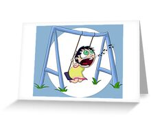 Swing of Singyness Greeting Card