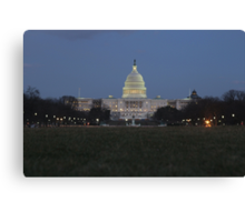 Capitol Building Canvas Print