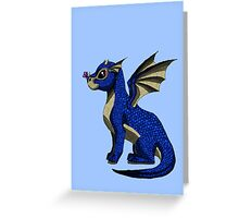 Sapphire the Baby Dragon Greeting Card
