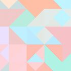Pastel geometrical design by RosiLorz