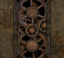 Infernal Steampunk Gears by Steve Crompton