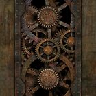 Infernal Steampunk Gears for Samsung Galaxy by Steve Crompton