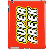 SUPER FREEK  iPad Case/Skin