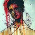 An Abstraction Of Frida by John Dicandia  ( JinnDoW )