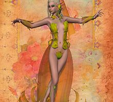Lady of the Flowers by LoneAngel