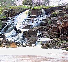 Nigretta Falls, Victoria, Australia by platypuses444