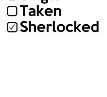 Relationship Status  : SHERLOCKED. by piecesofrie