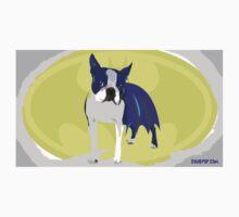 Batdog - Boston Terrier Kids Clothes