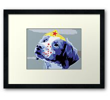 Wunderhund - Brittany Spaniel #2 Framed Print