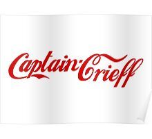 Captain Crieff (Red Version) Poster