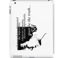 Sherlock: Must be the Truth iPad Case/Skin