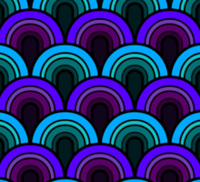 Pattern Retro Style Sticker