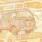 Brown Bay Campervan Montage by Ra12