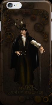 Steampunk Loki by nero749