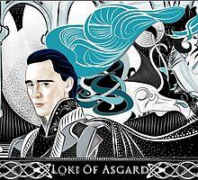 Loki of Asgard by nero749