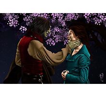 Rumpelstiltskin and Belle Photographic Print