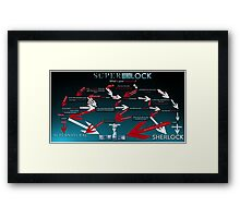 Superwholock: What's your Favourite? Framed Print