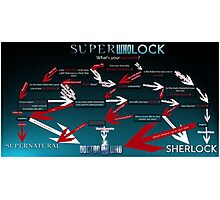 Superwholock: What's your Favourite? Photographic Print