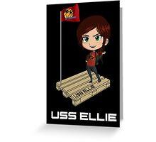 U.S.S Ellie Greeting Card
