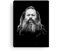 Rick Rubin - DEF JAM shirt Canvas Print