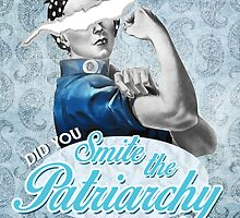 Smite the Patriarchy design. by Dalal Semprun