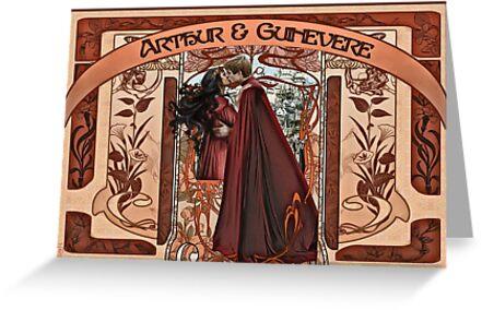 Arthur & Guinevere by nero749