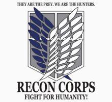 Recon Corps - Attack On Titan Kids Clothes