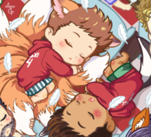 Sleepy Pack Sticker