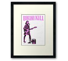 BIKINI KILL Punk Rock Feminism T-Shirt Framed Print