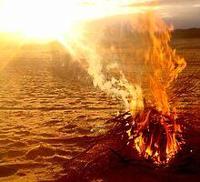 Fiery Sunset by soelfo
