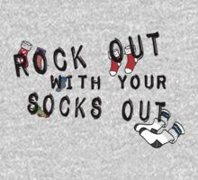 ROCK OUT WITH YOUR SOCKS OUT by Allibear87