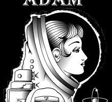 Astronaut W/Backround by adamloomis
