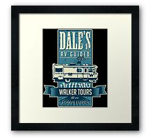Dale's Walker Tours Framed Print