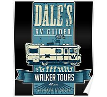 Dale's Walker Tours Poster