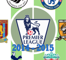 EPL~English Premier League 2014~2015 Sticker