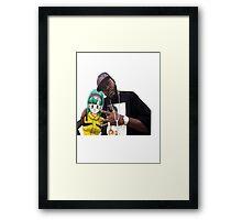 Bulma triple OG. (Back) Framed Print