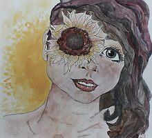 Sunflower eyed by Maura Hartzman