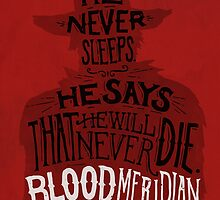Blood Meridian Art Print by geekdown