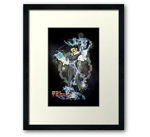 BDZ Tesla Milky Way Framed Print