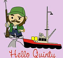 Hello Quinty by Robiberg