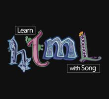 Hand-Drawn HTML Logo by htmlsongs