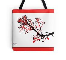 flame tree ... Tote Bag