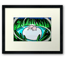 Mew | Rest Framed Print