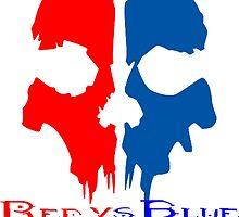 RED VS BLUE by lewis carnegie