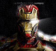 Iron Man by lazare