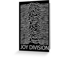 Joy Division W Greeting Card