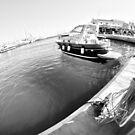 marina&summer holidays (bw) by Yannis-Tsif