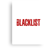 The Blacklist Canvas Print