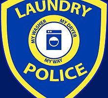Laundry Police  by Creative Images