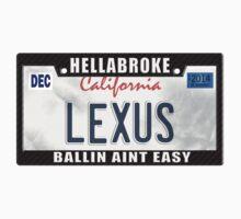 License Plate w/ cf Frame - LEXUS by TswizzleEG